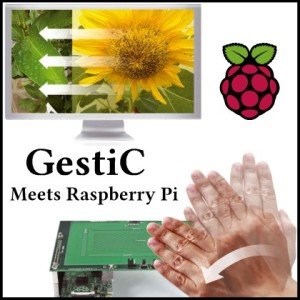 GestIC Meets Raspberry Pi: gesture recognition with Raspberry Pi