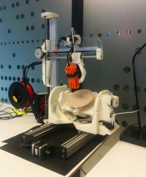 Amazing Open Source 5-Axis 3D Printer Created by University of Oslo Master's Student