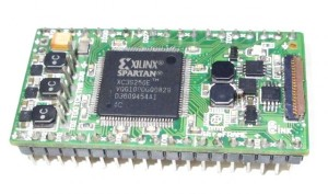 WireFrame FPGA Board , Breadboardable Xilinx XC3S250E Board