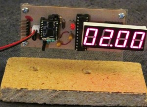 IP Time Clock using NTP protocol