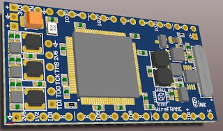 WireFrame FPGA Board , Breadboardable Xilinx XC3S250E Board 19
