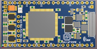 WireFrame FPGA Board , Breadboardable Xilinx XC3S250E Board 18
