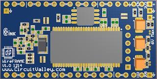 WireFrame FPGA Board , Breadboardable Xilinx XC3S250E Board 20