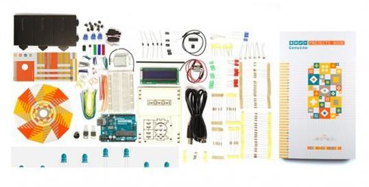 Arduino team (proudly) presents Genuino Starter Kit! 3