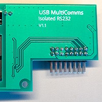 USB MultiComms Part Two - RS232 Board 18