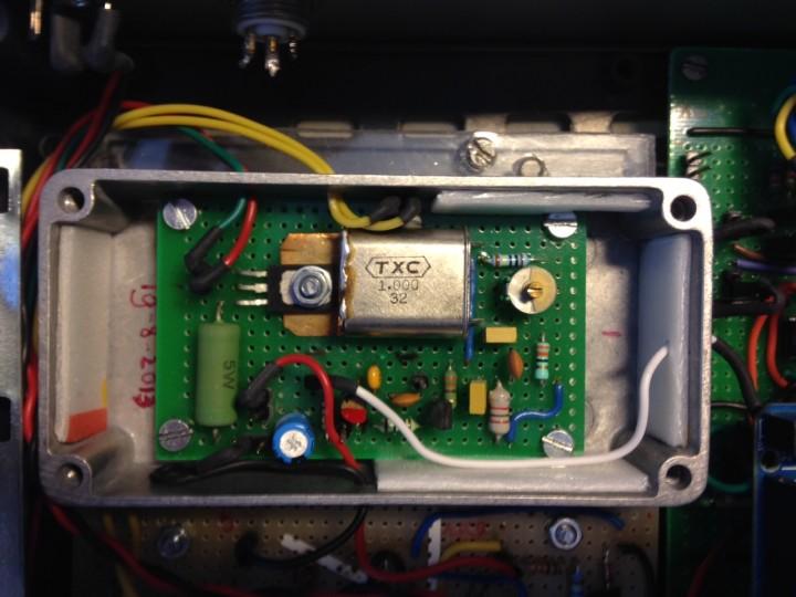 Oscillator Circuit 3100a Circuit Set Up Crystal Oscillator Schematic
