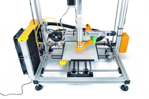 The 3drag Choco Chocolate 3d Printer Cooling System